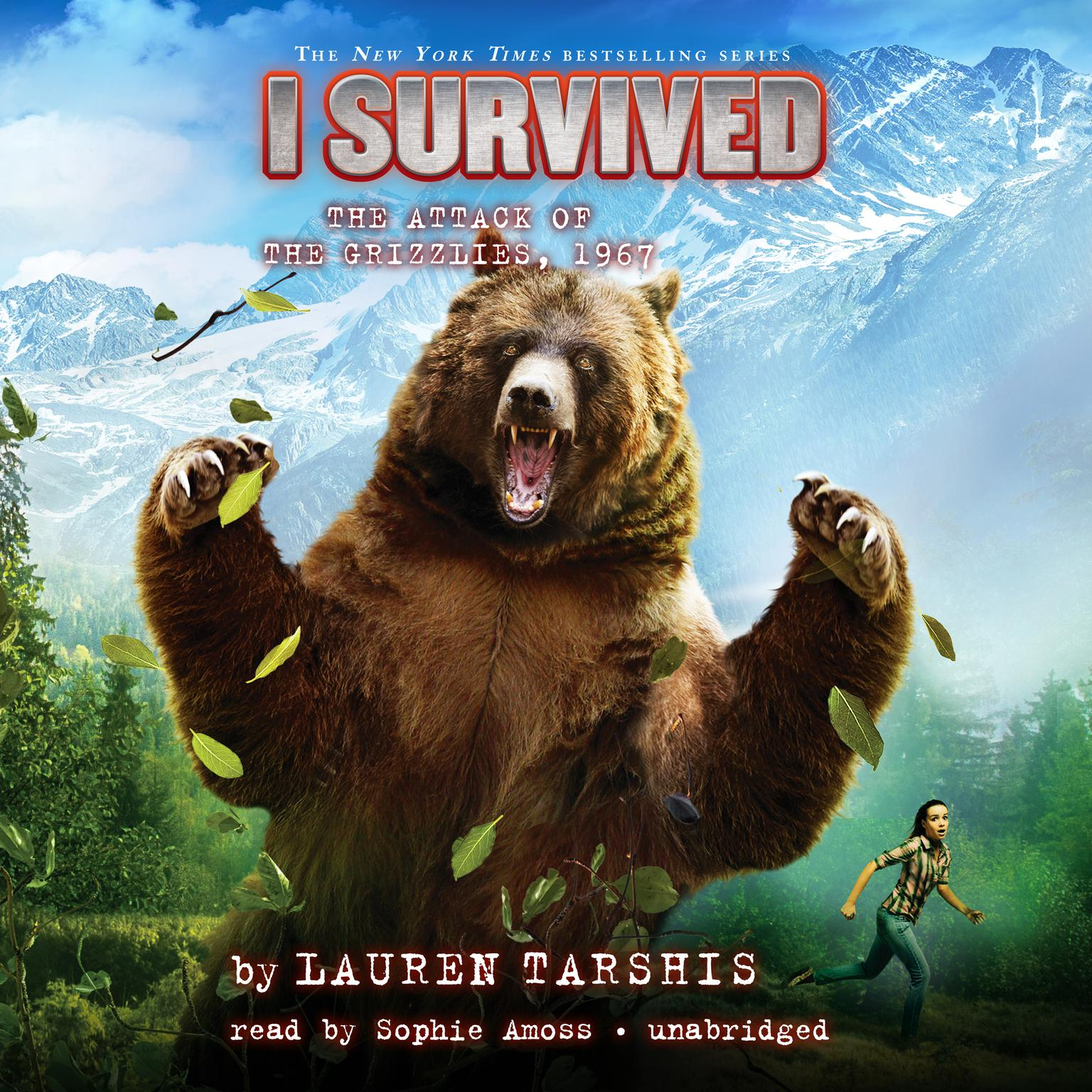 Printable I Survived the Attack of the Grizzlies, 1967 Audiobook Cover Art