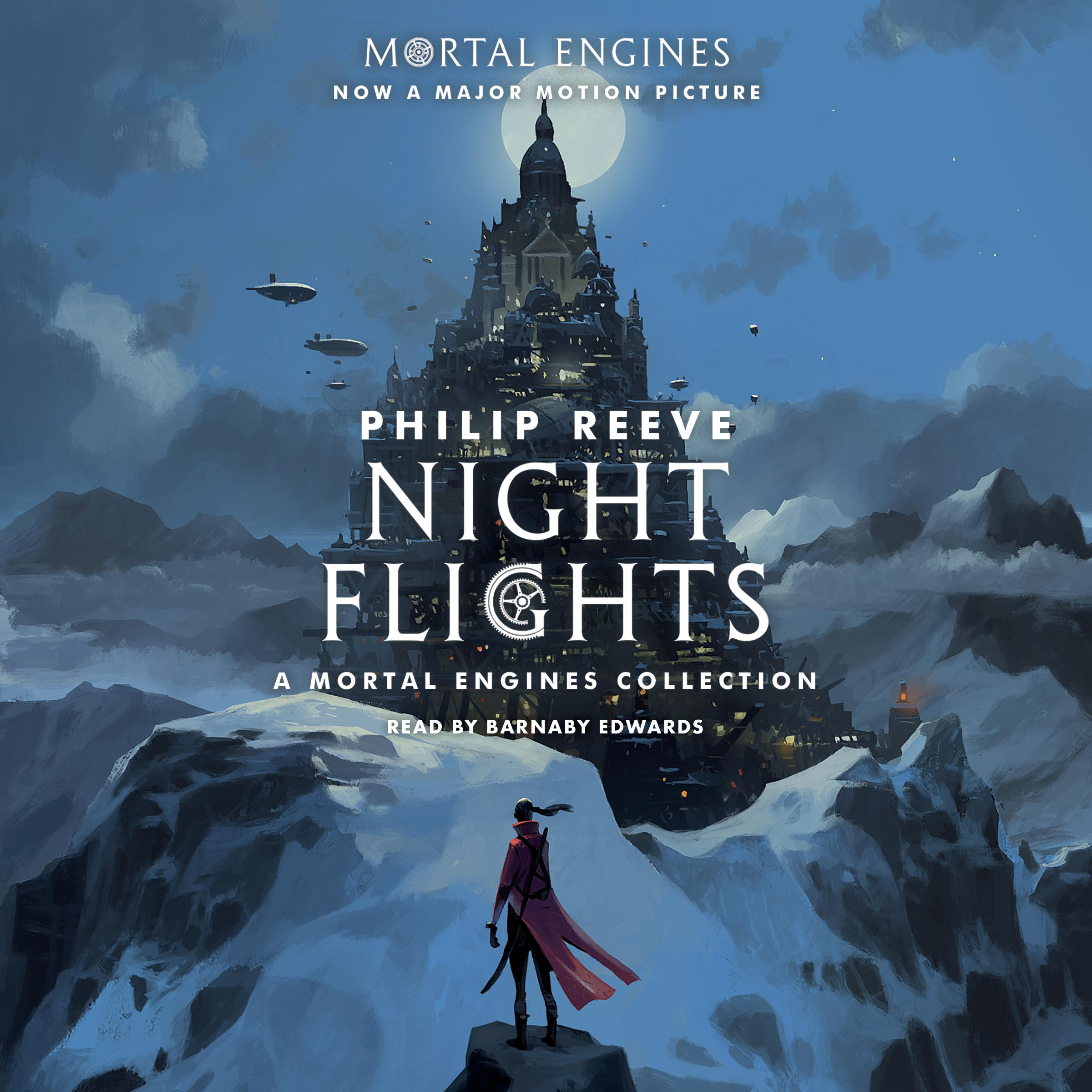 Printable Night Flights: A Mortal Engines Collection Audiobook Cover Art