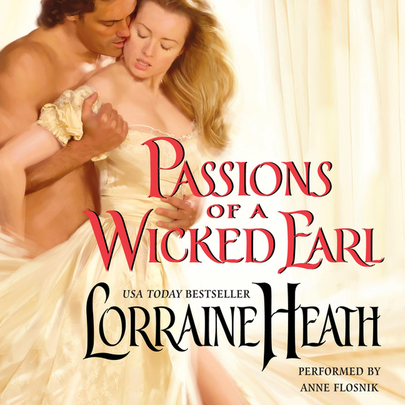 Printable Passions of a Wicked Earl Audiobook Cover Art