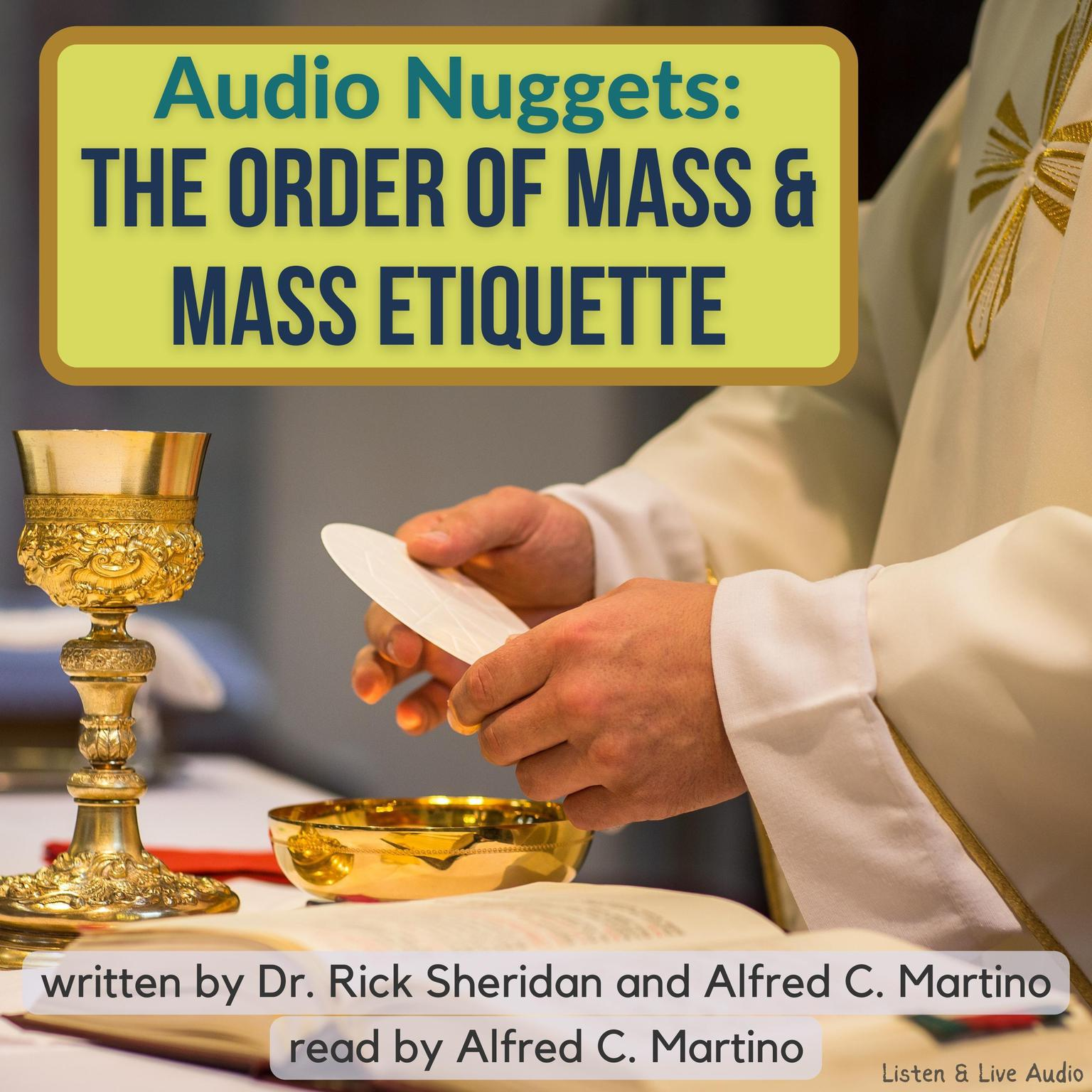 Printable Audio Nuggets: The Order of Mass & Mass Etiquette Audiobook Cover Art