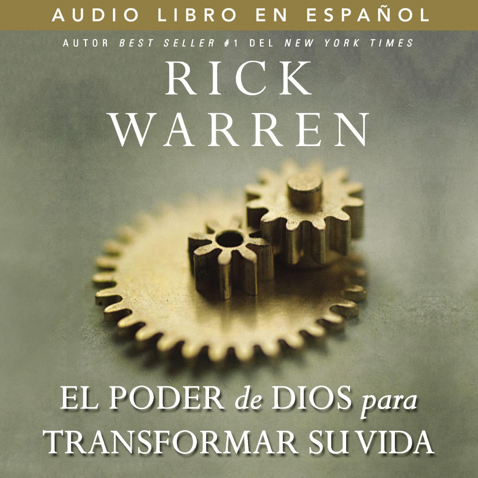 El poder de Dios para transformar su vida Audiobook, by Rick Warren