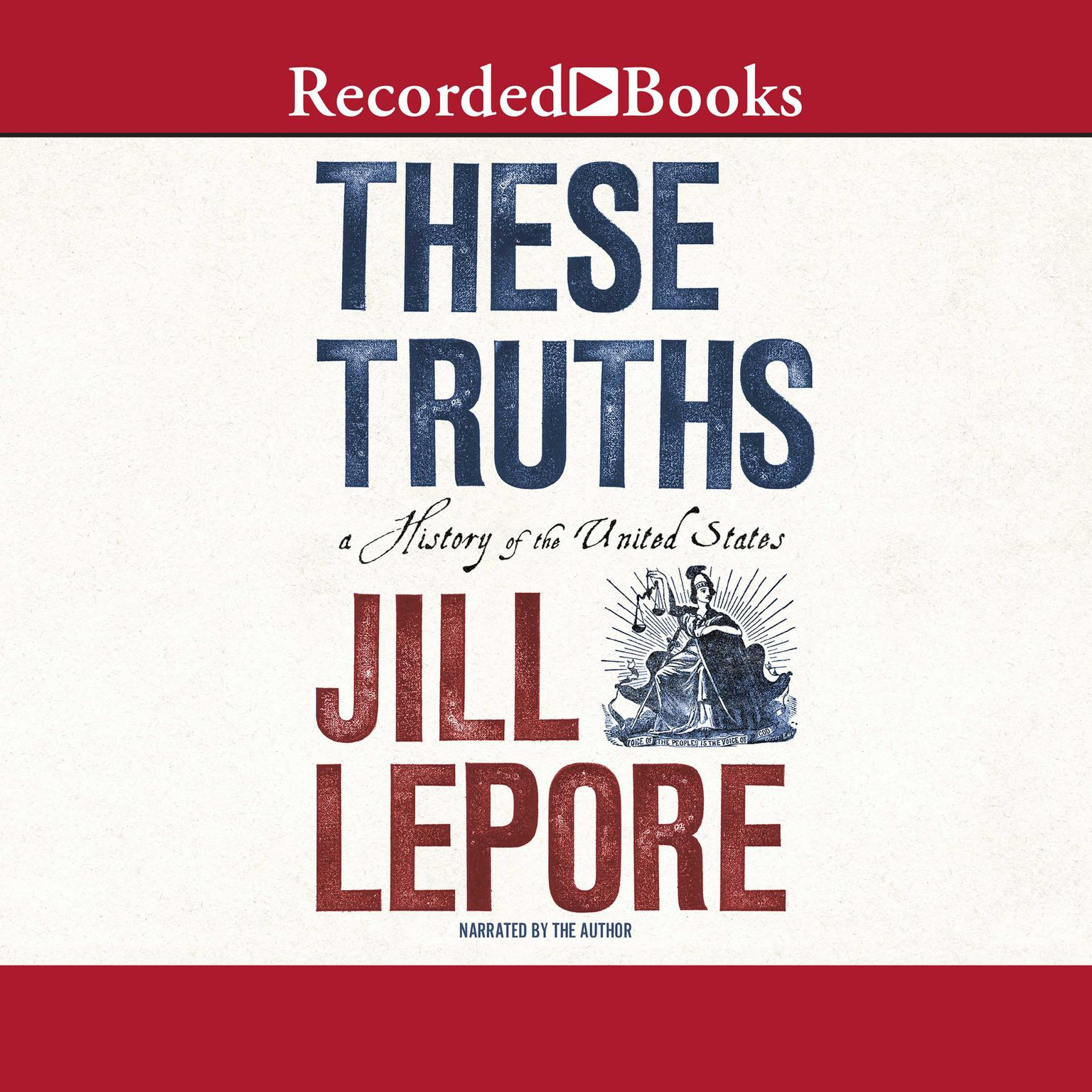 Printable These Truths: A History of the United States Audiobook Cover Art