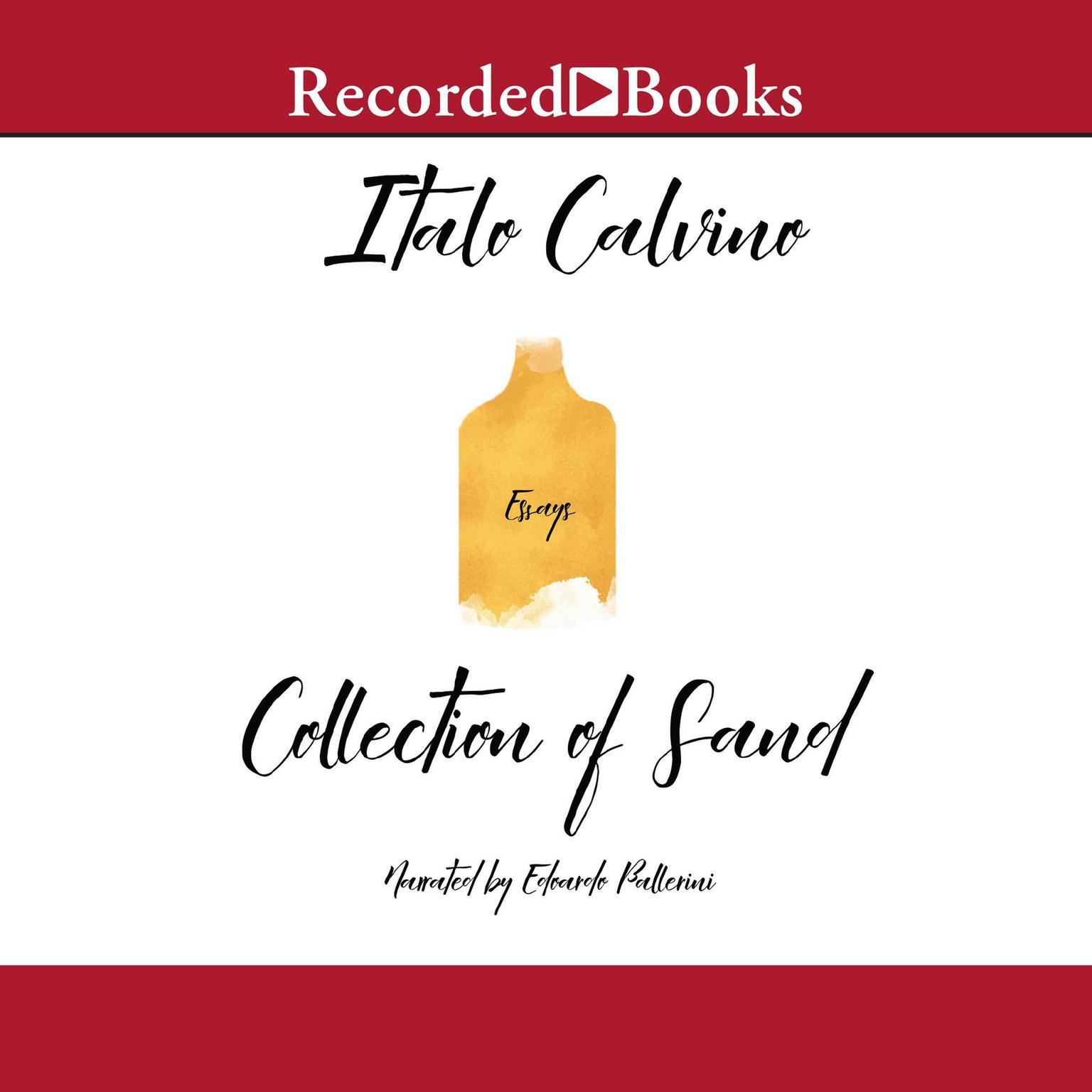 Printable The Collection of Sand Audiobook Cover Art