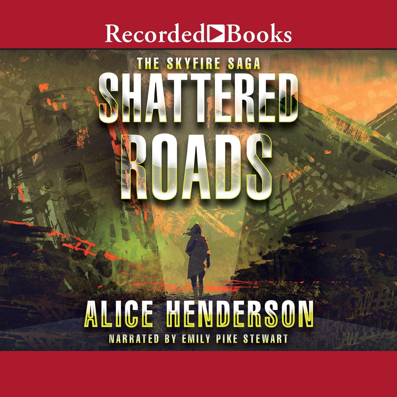 Printable Shattered Roads Audiobook Cover Art
