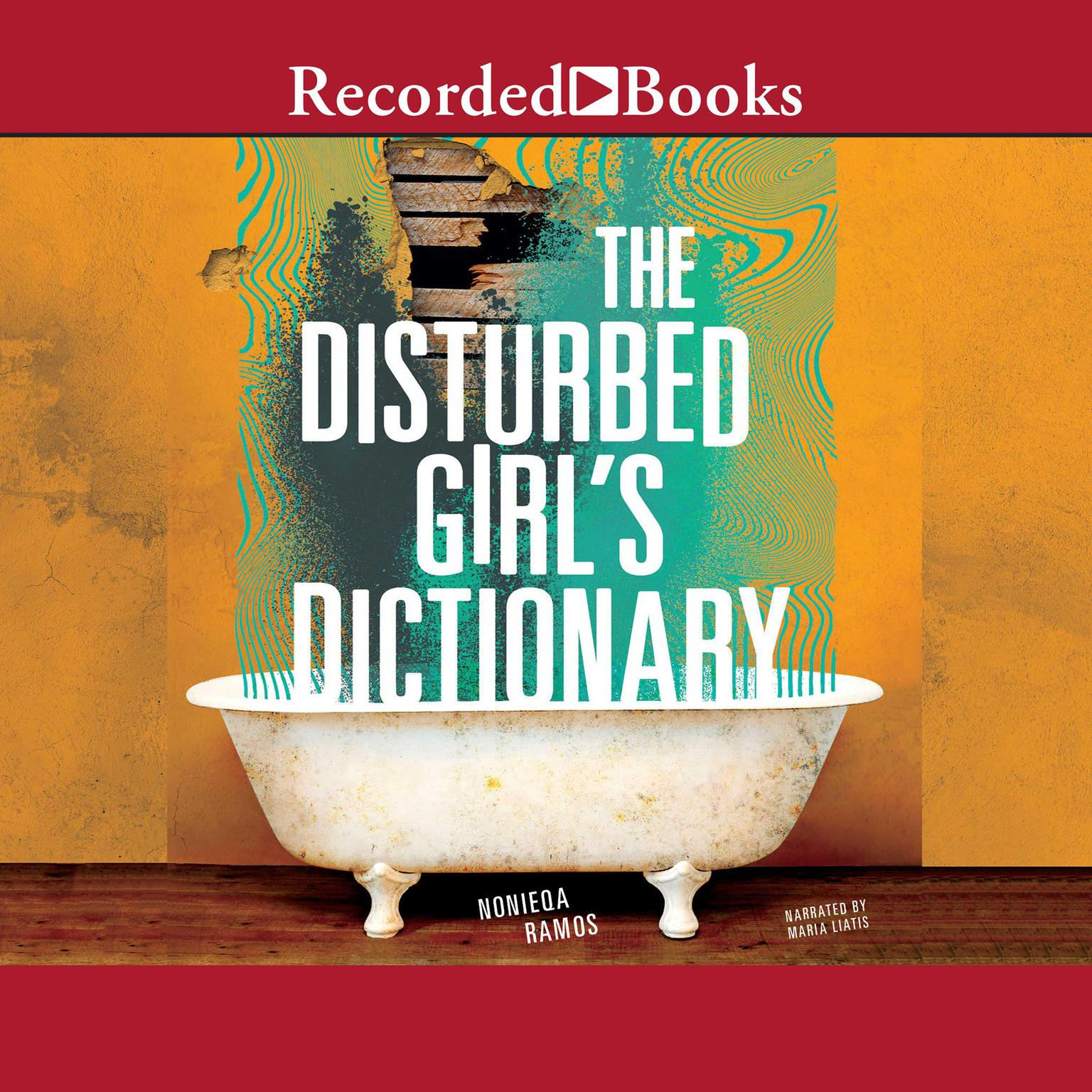Printable The Disturbed Girls Dictionary Audiobook Cover Art