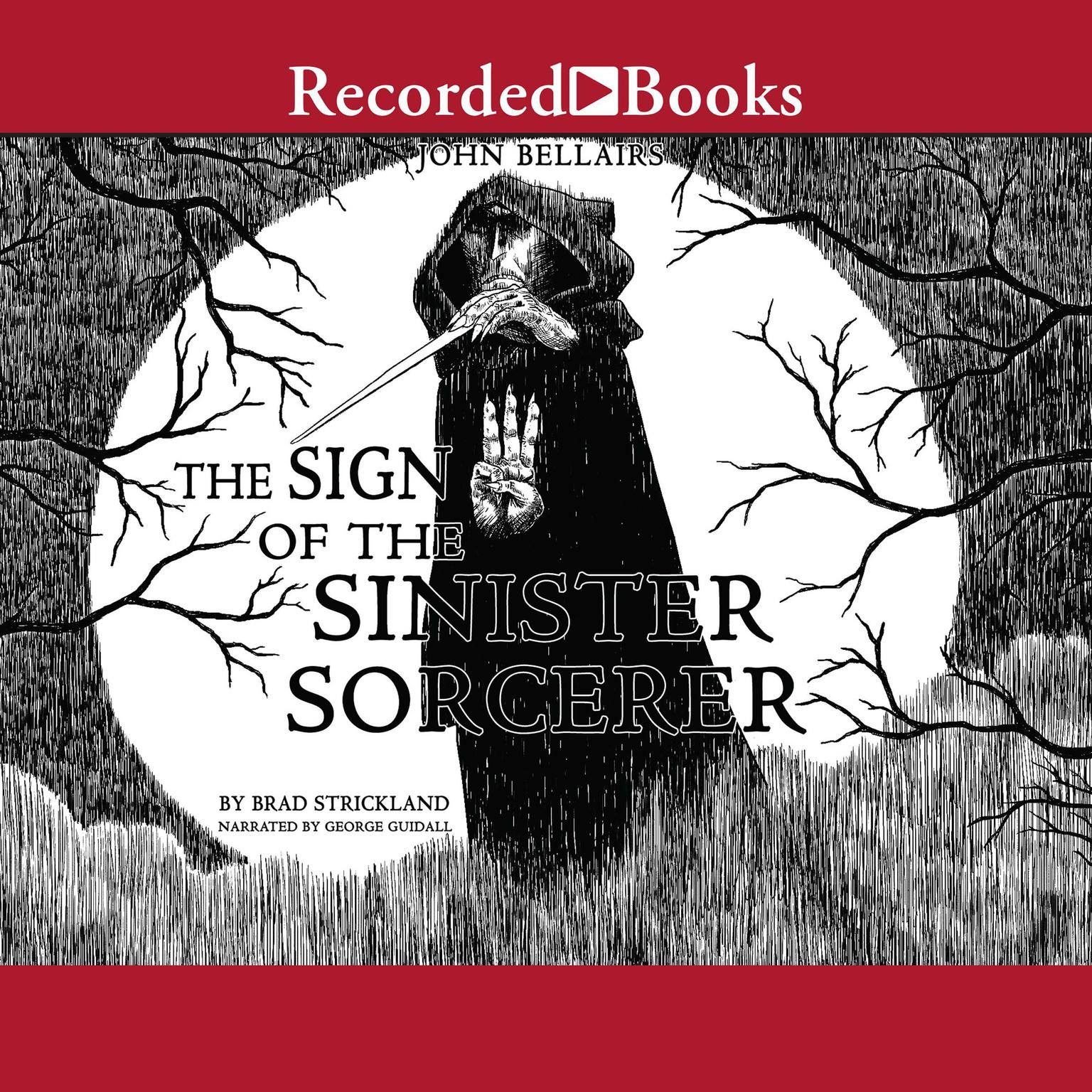 Printable The Sign of the Sinister Sorcerer Audiobook Cover Art