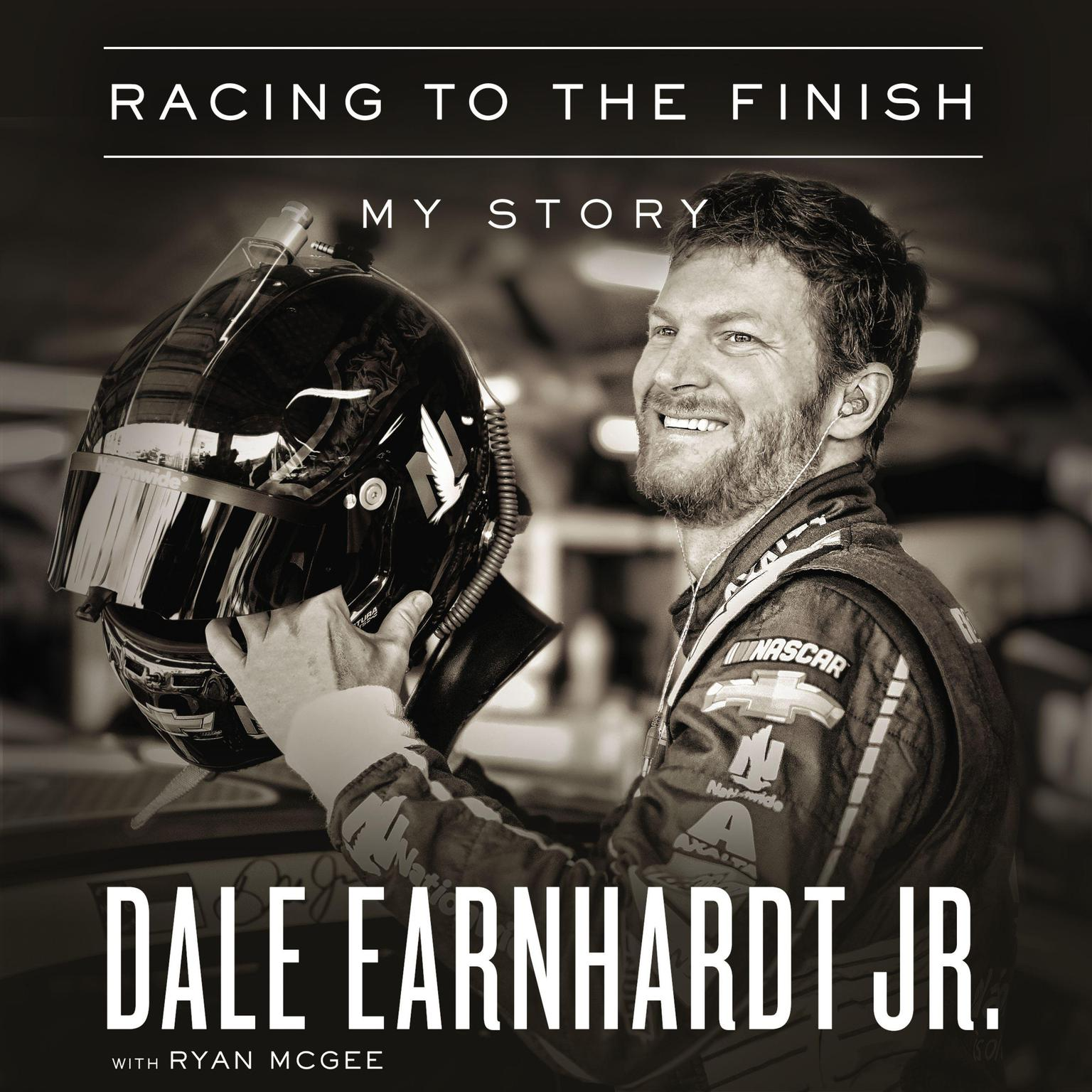 Printable Racing to the Finish: My Story Audiobook Cover Art