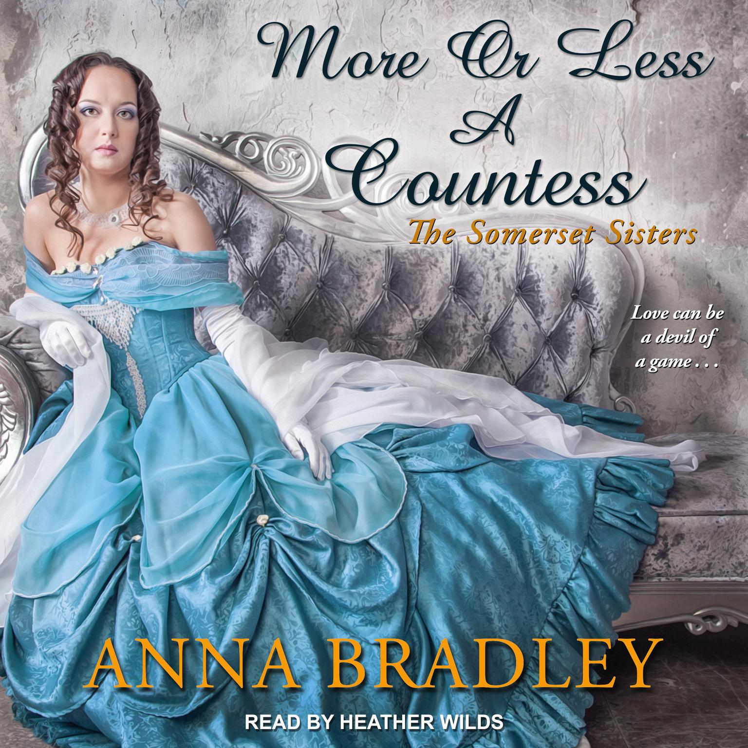 Printable More or Less a Countess  Audiobook Cover Art