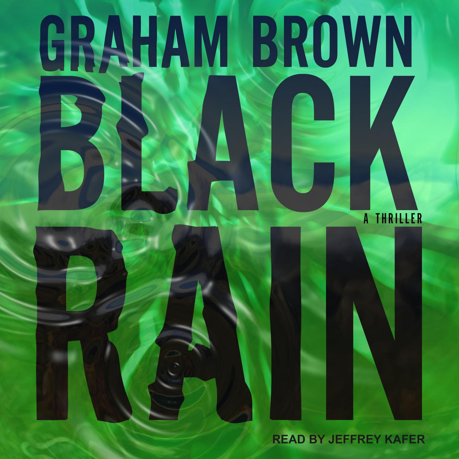 Printable Black Rain Audiobook Cover Art