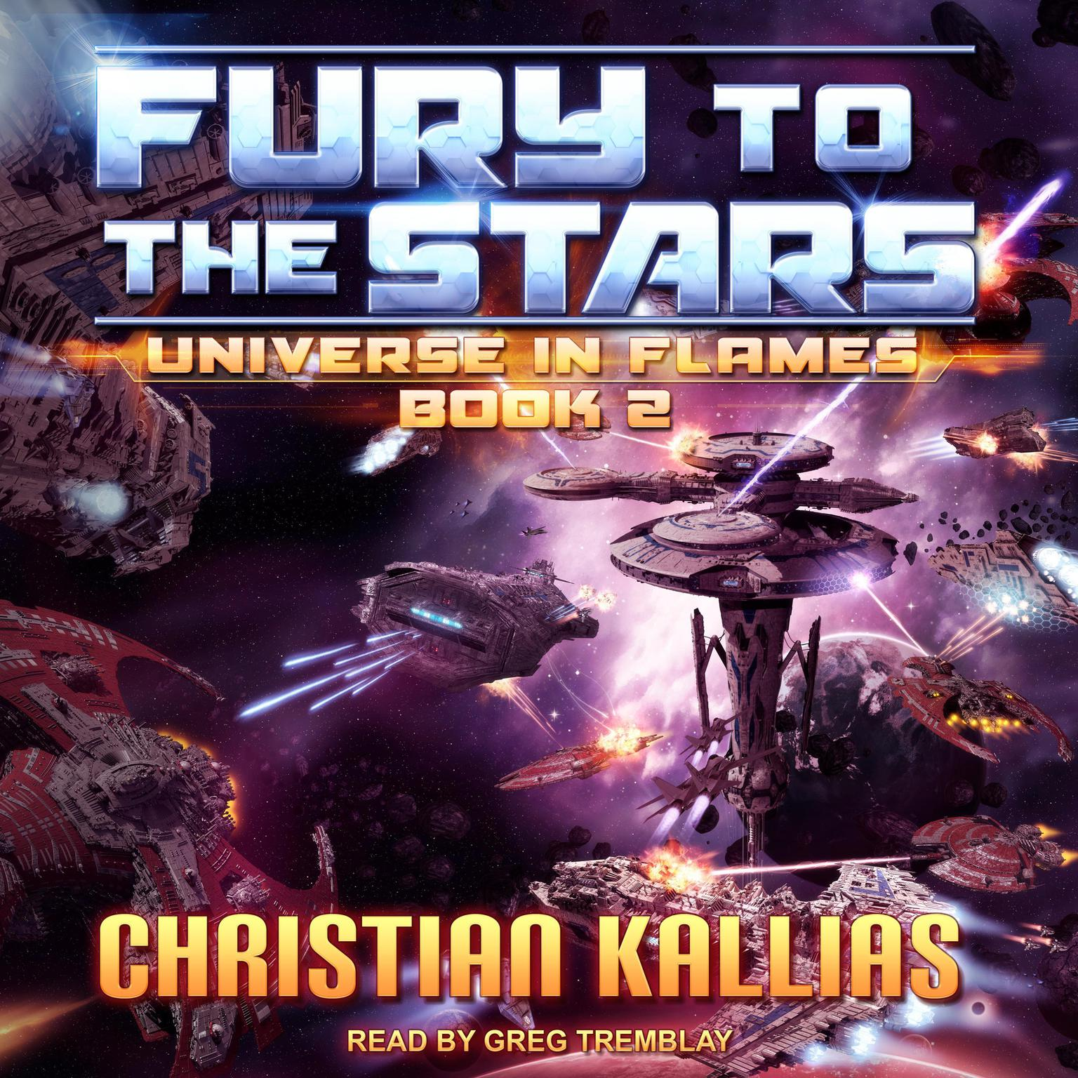 Printable Fury to the Stars Audiobook Cover Art