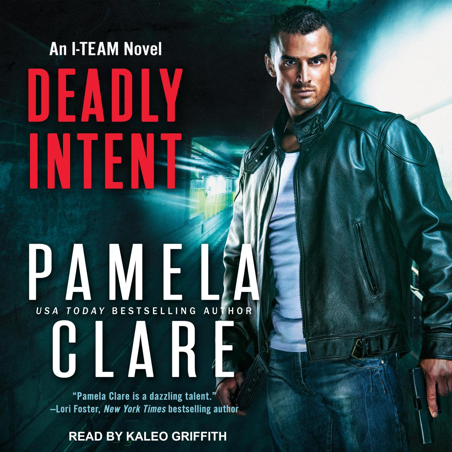 Printable Deadly Intent Audiobook Cover Art