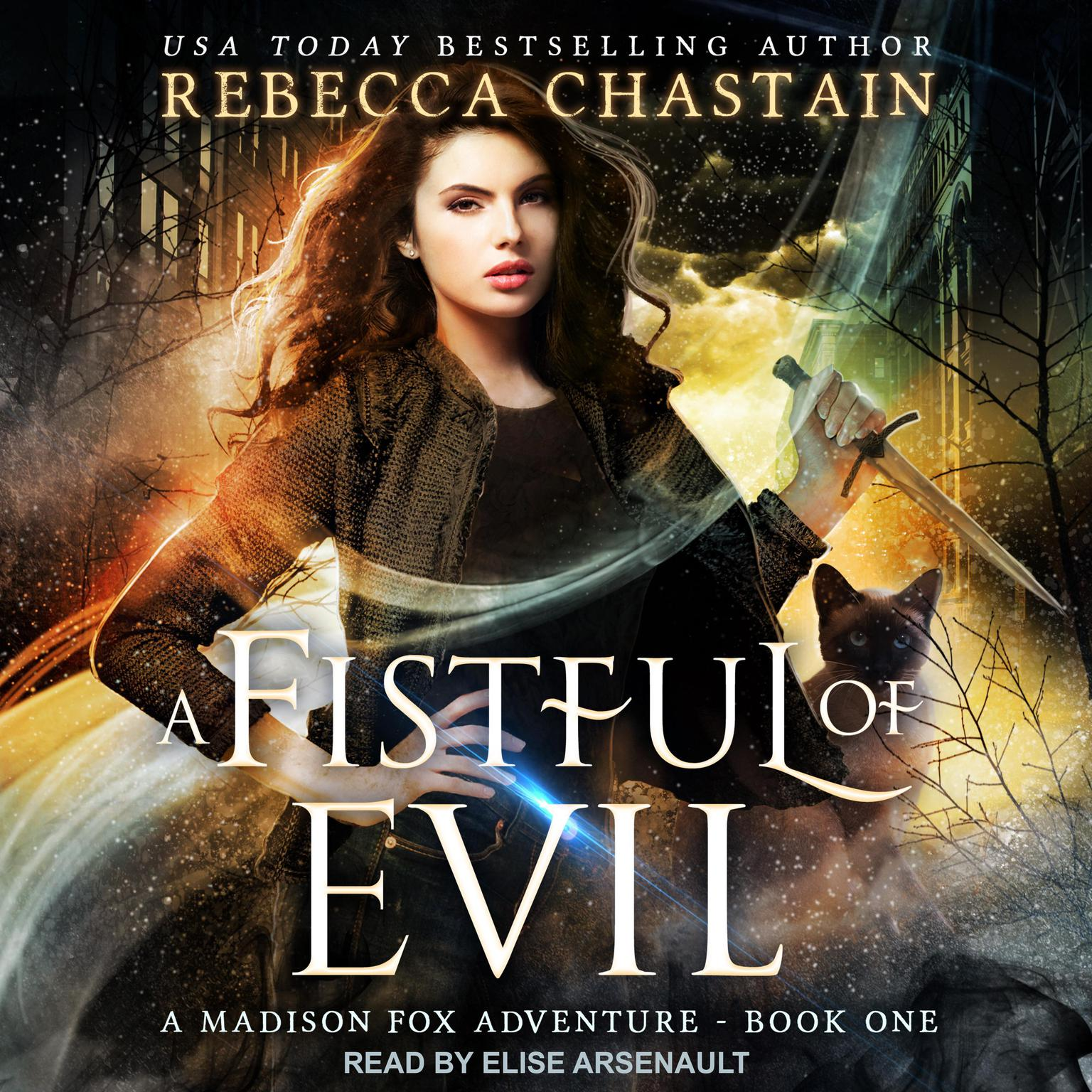 Printable A Fistful of Evil Audiobook Cover Art