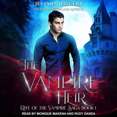 The Vampire Heir Audiobook, by Juliana Haygert