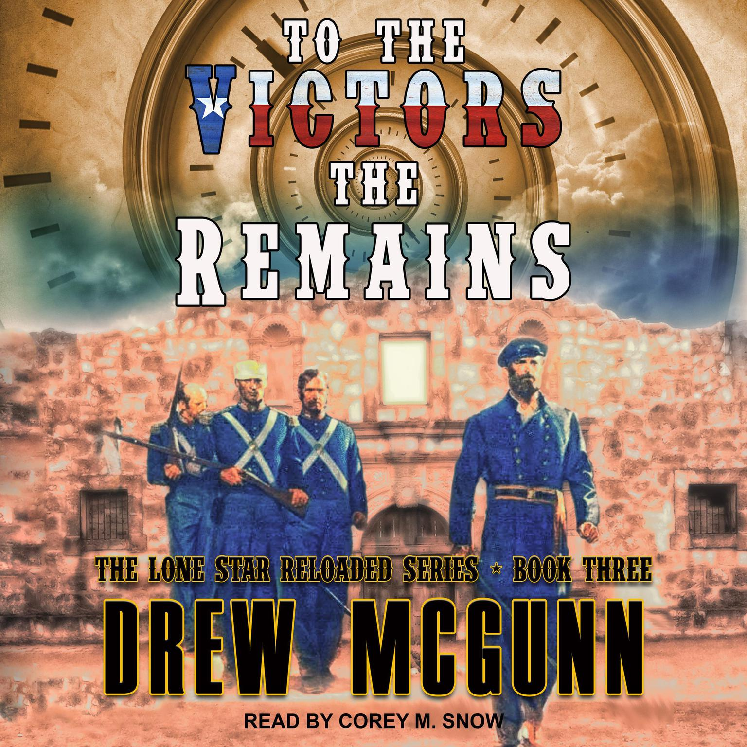 Printable To the Victors the Remains Audiobook Cover Art