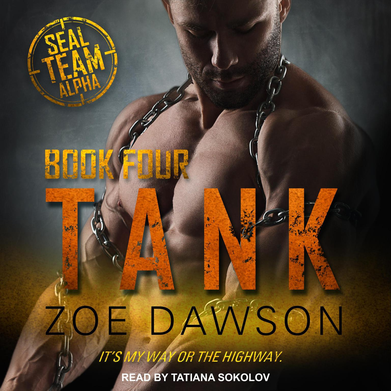 Printable Tank Audiobook Cover Art
