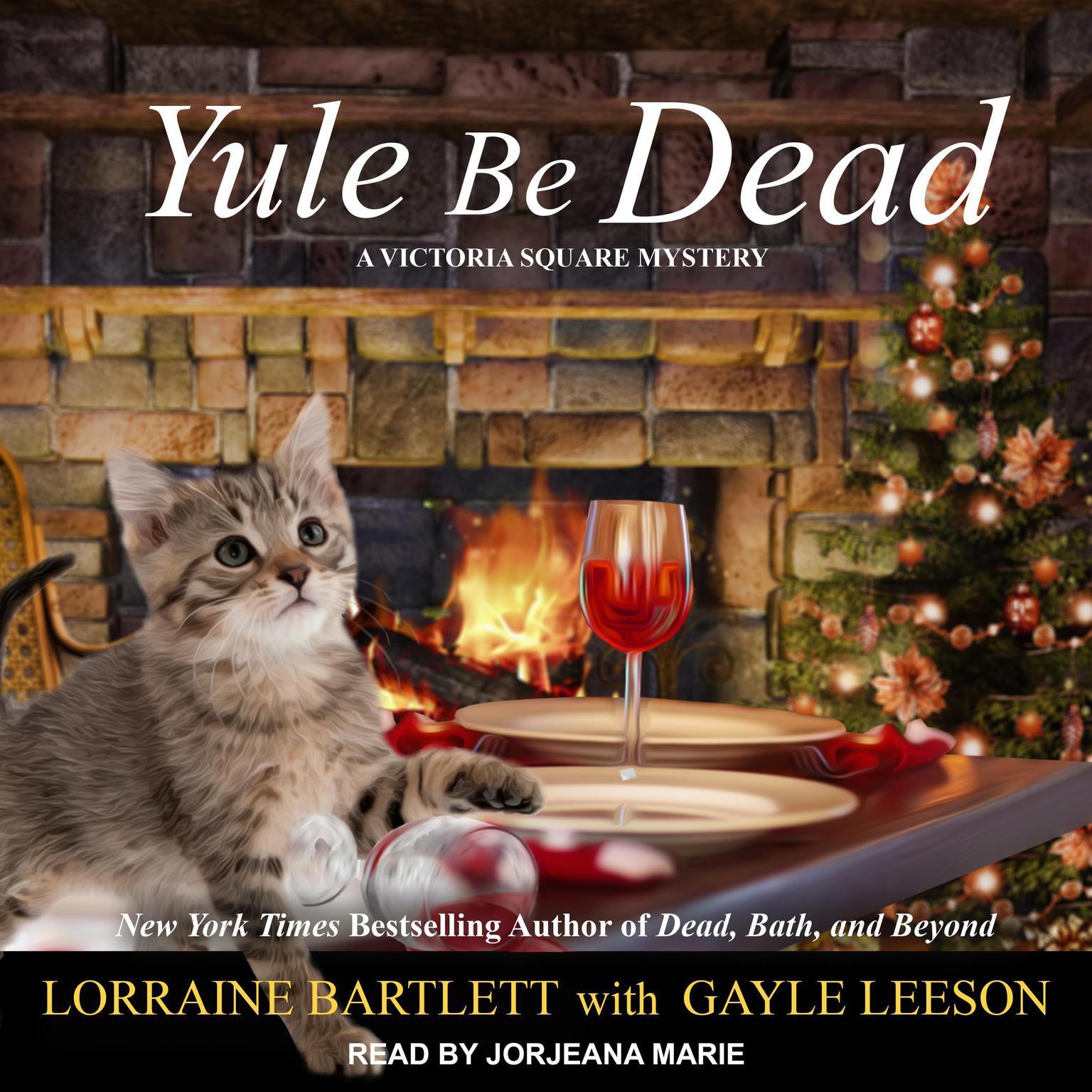 Printable Yule Be Dead Audiobook Cover Art