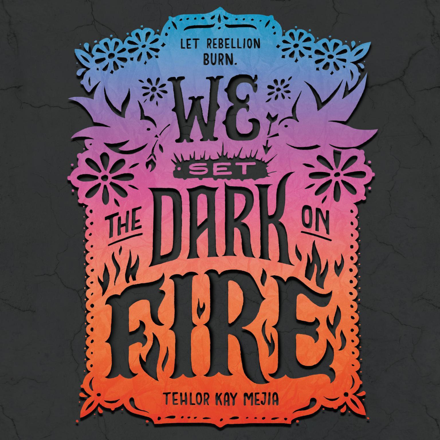 Printable We Set the Dark on Fire Audiobook Cover Art