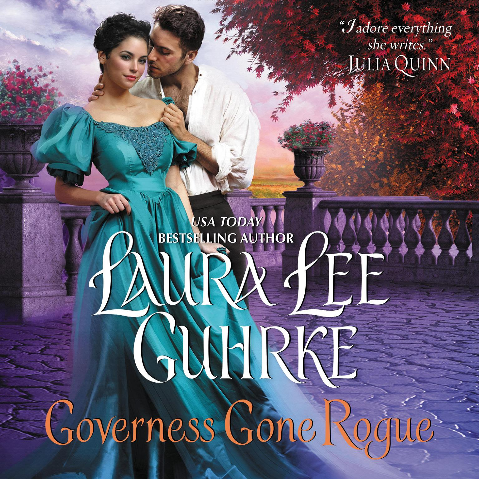 Printable Governess Gone Rogue: A Novel Audiobook Cover Art