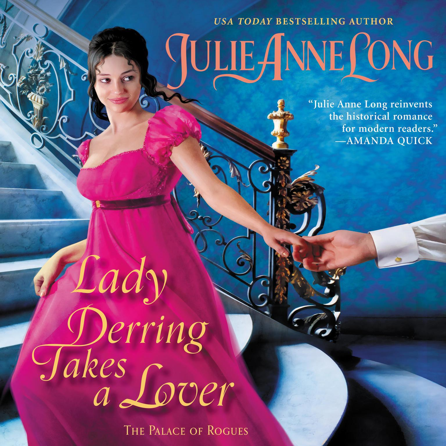 Printable Lady Derring Takes a Lover: The Palace of Rogues Audiobook Cover Art