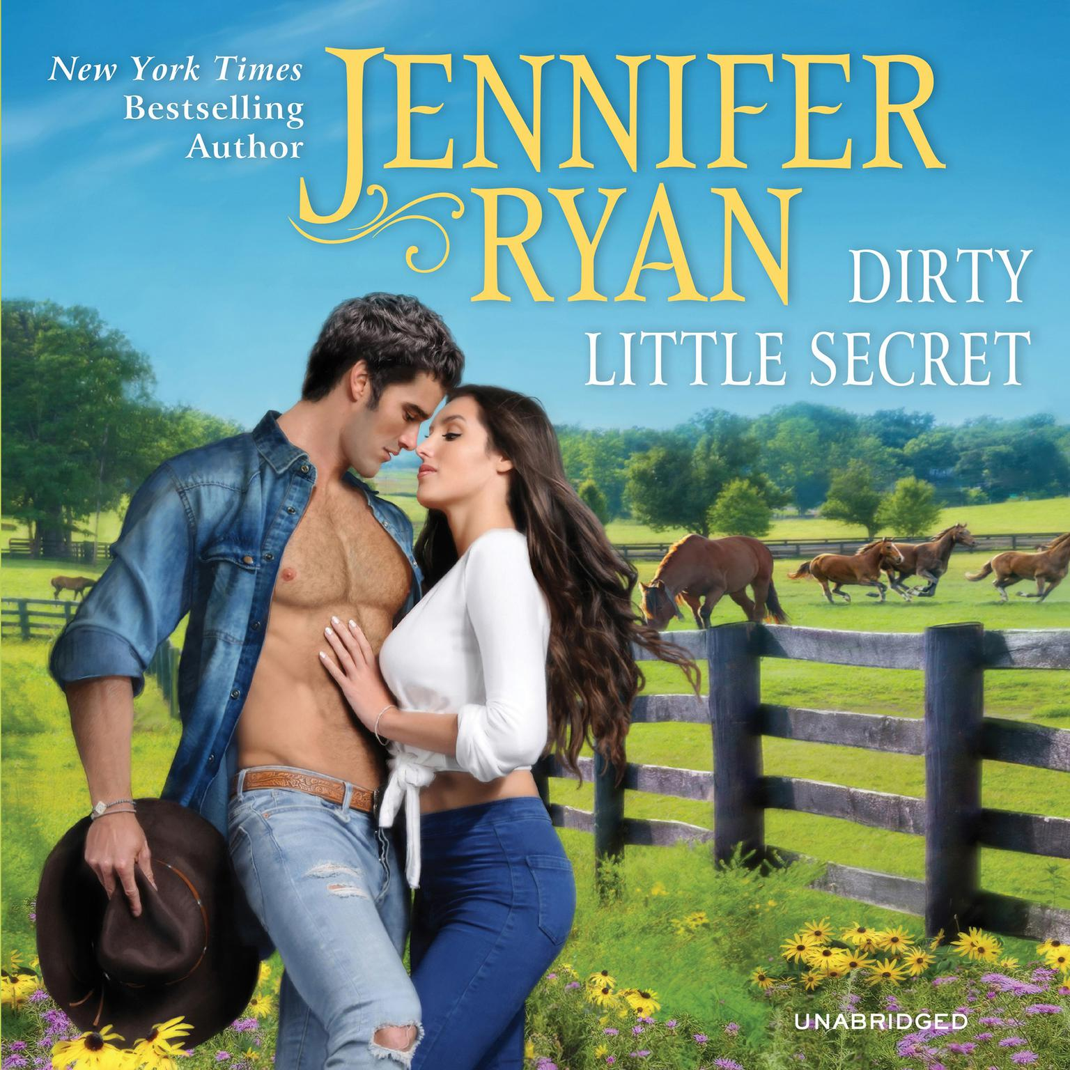 Printable Dirty Little Secret: Wild Rose Ranch Audiobook Cover Art