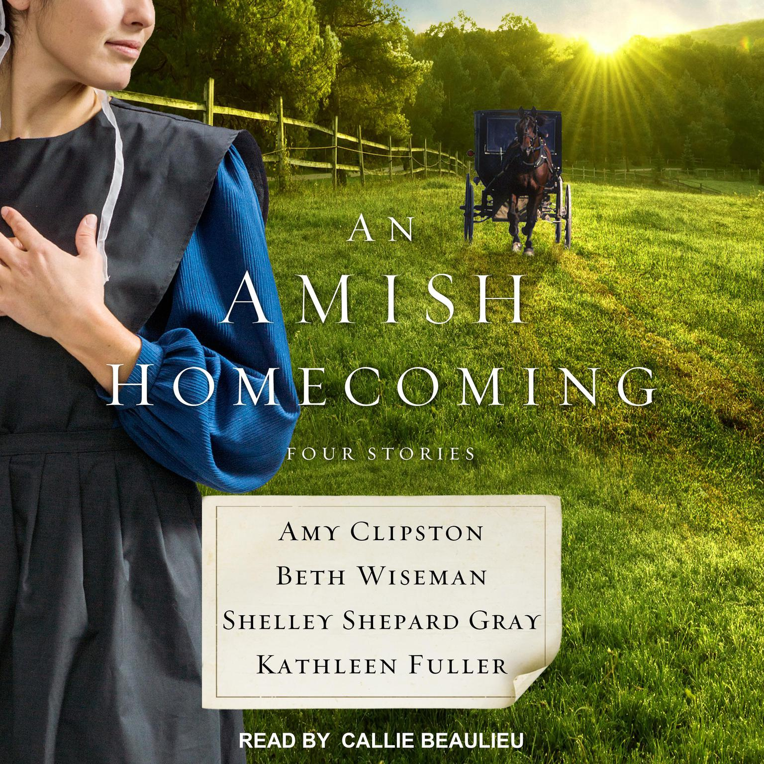 An Amish Homecoming: Four Stories Audiobook, by Amy Clipston