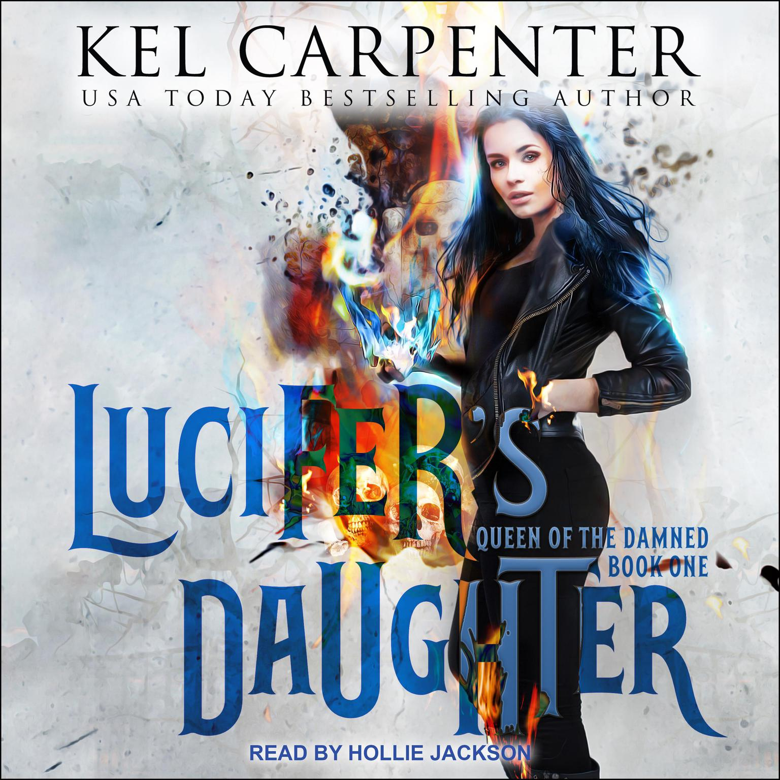 Printable Lucifer's Daughter Audiobook Cover Art