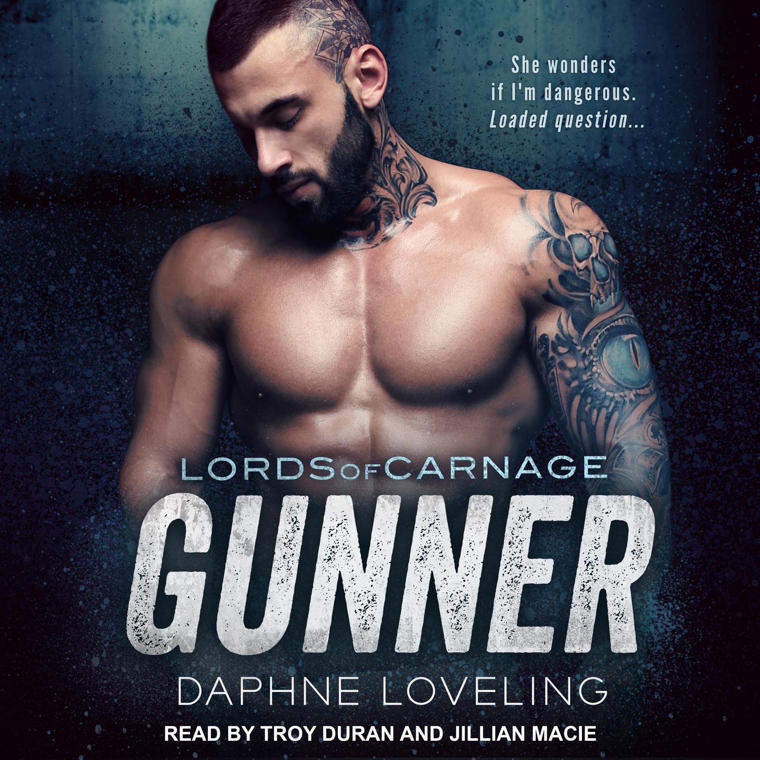 Printable Gunner Audiobook Cover Art