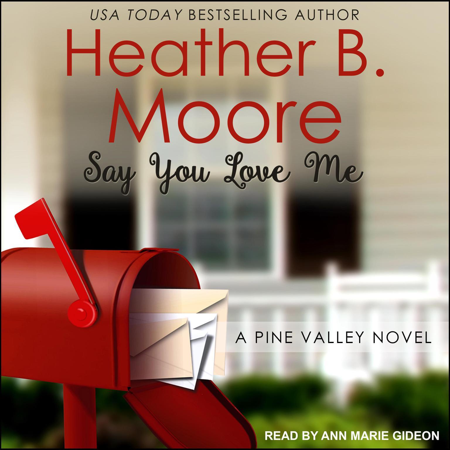Printable Say You Love Me Audiobook Cover Art