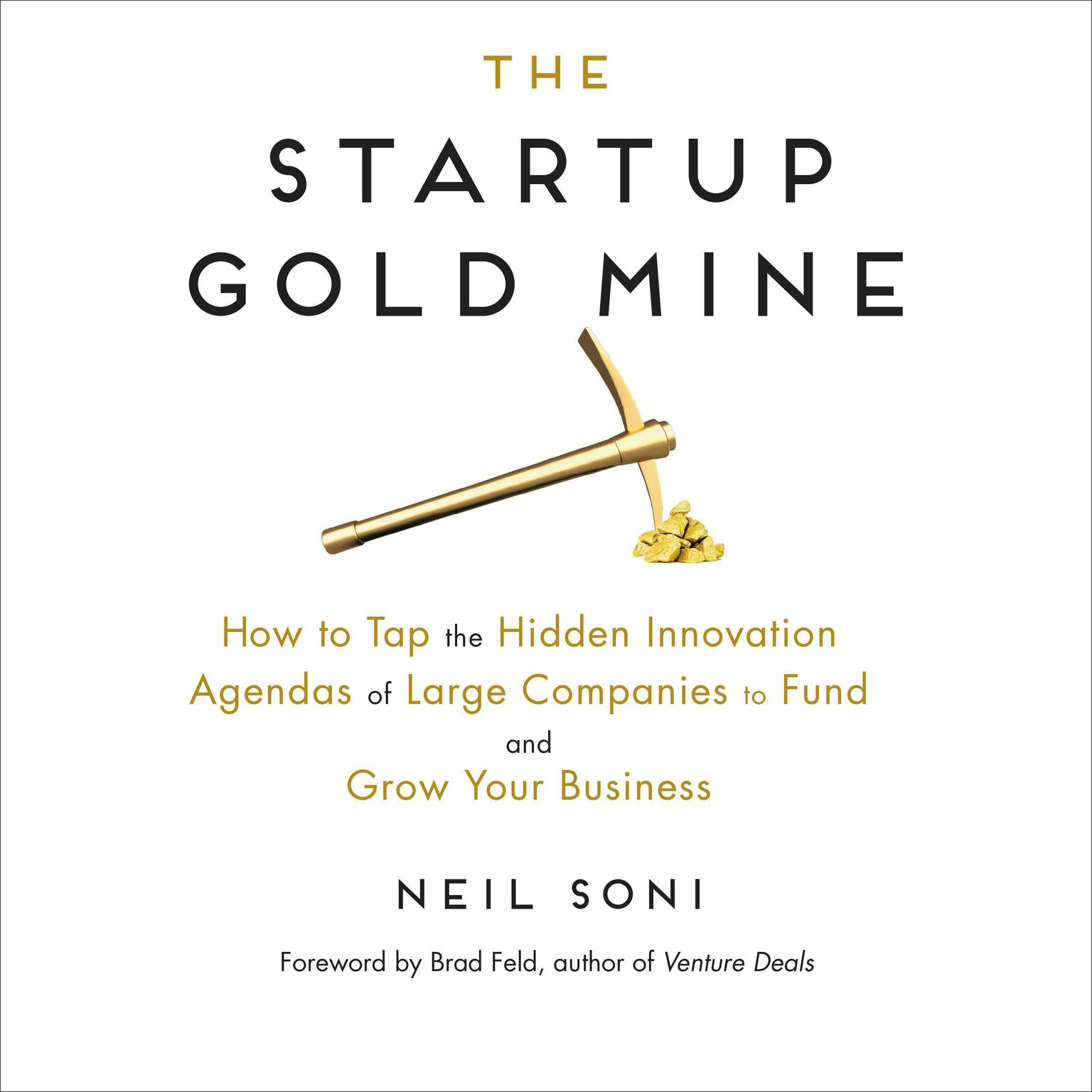 Printable The Startup Gold Mine: How to Tap the Hidden Innovation Agendas of Large Companies to Fund and Grow Your Business Audiobook Cover Art