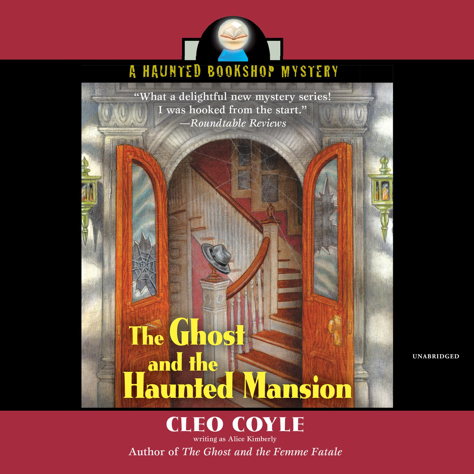 Printable The Ghost and the Haunted Mansion Audiobook Cover Art