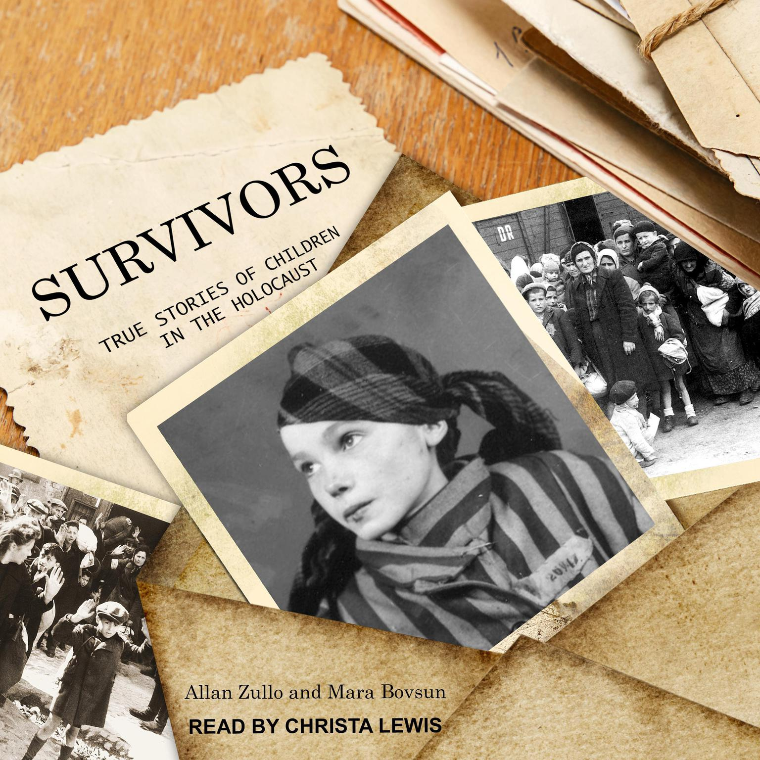 Printable Survivors: True Stories of Children in the Holocaust Audiobook Cover Art