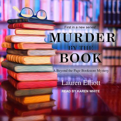 Murder by the Book Audiobook, by Lauren Elliott