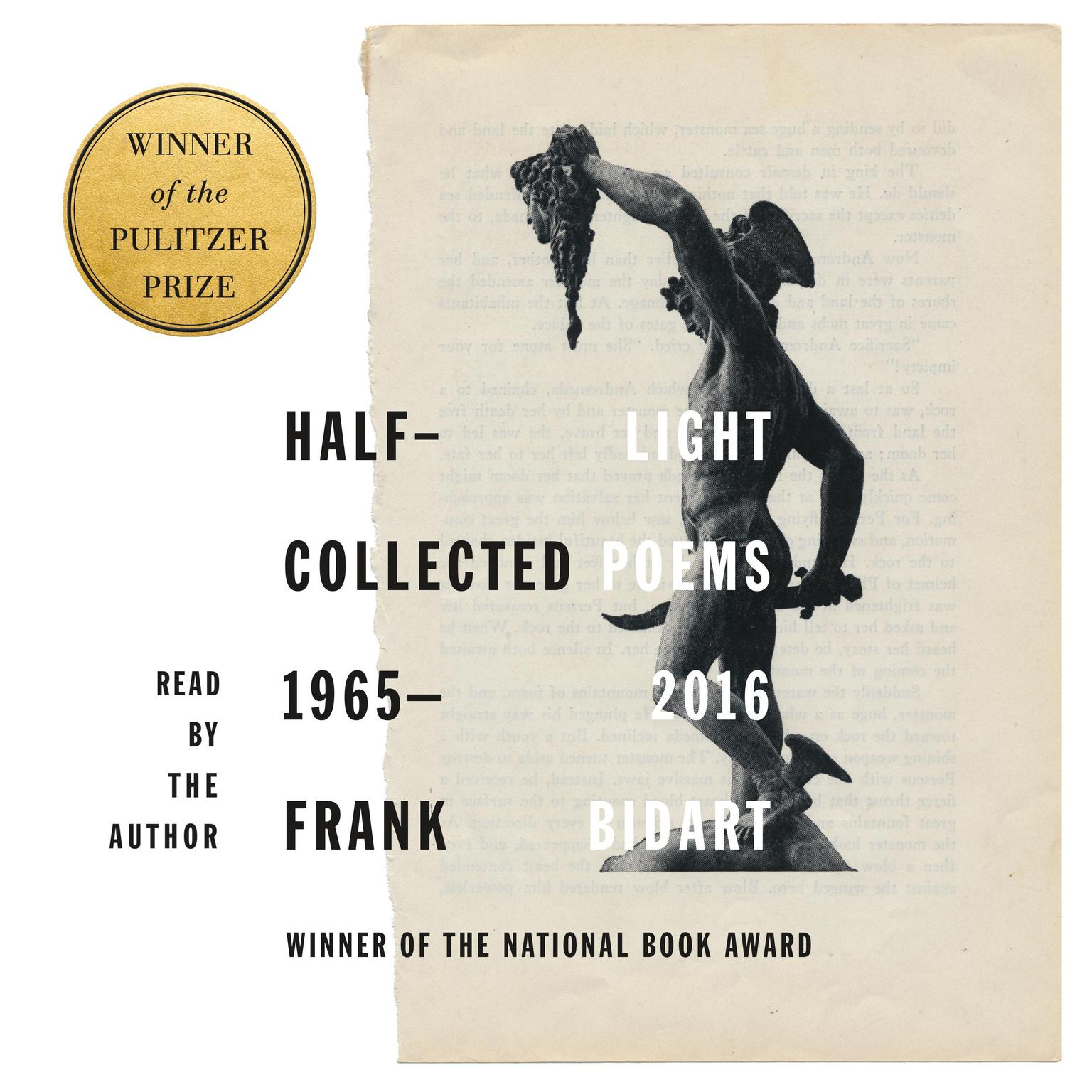 Printable Half-light: Collected Poems 1965-2016 Audiobook Cover Art