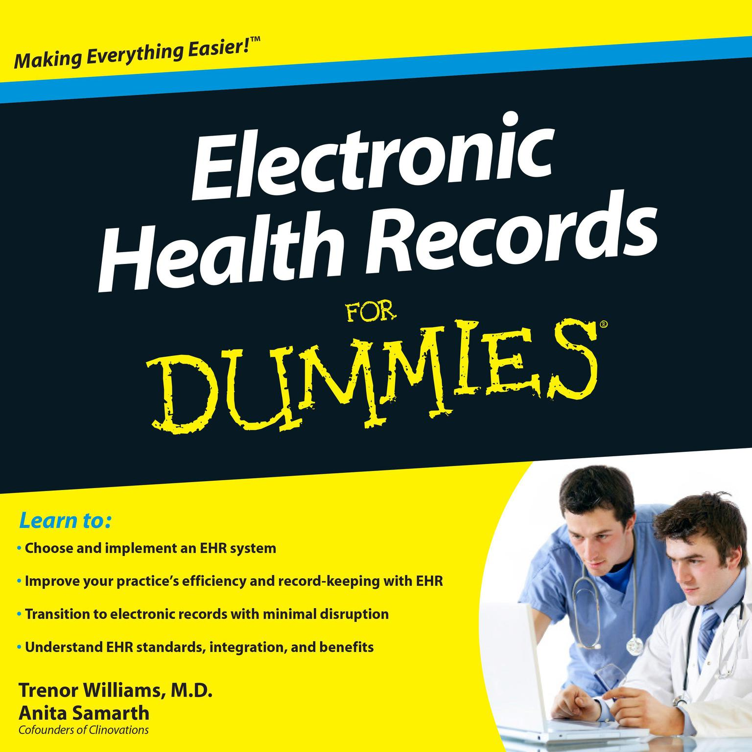 Printable Electronic Health Records for Dummies Audiobook Cover Art