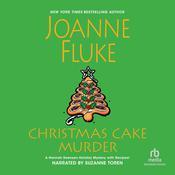 Christmas Cake Murder Audiobook, by Joanne Fluke 