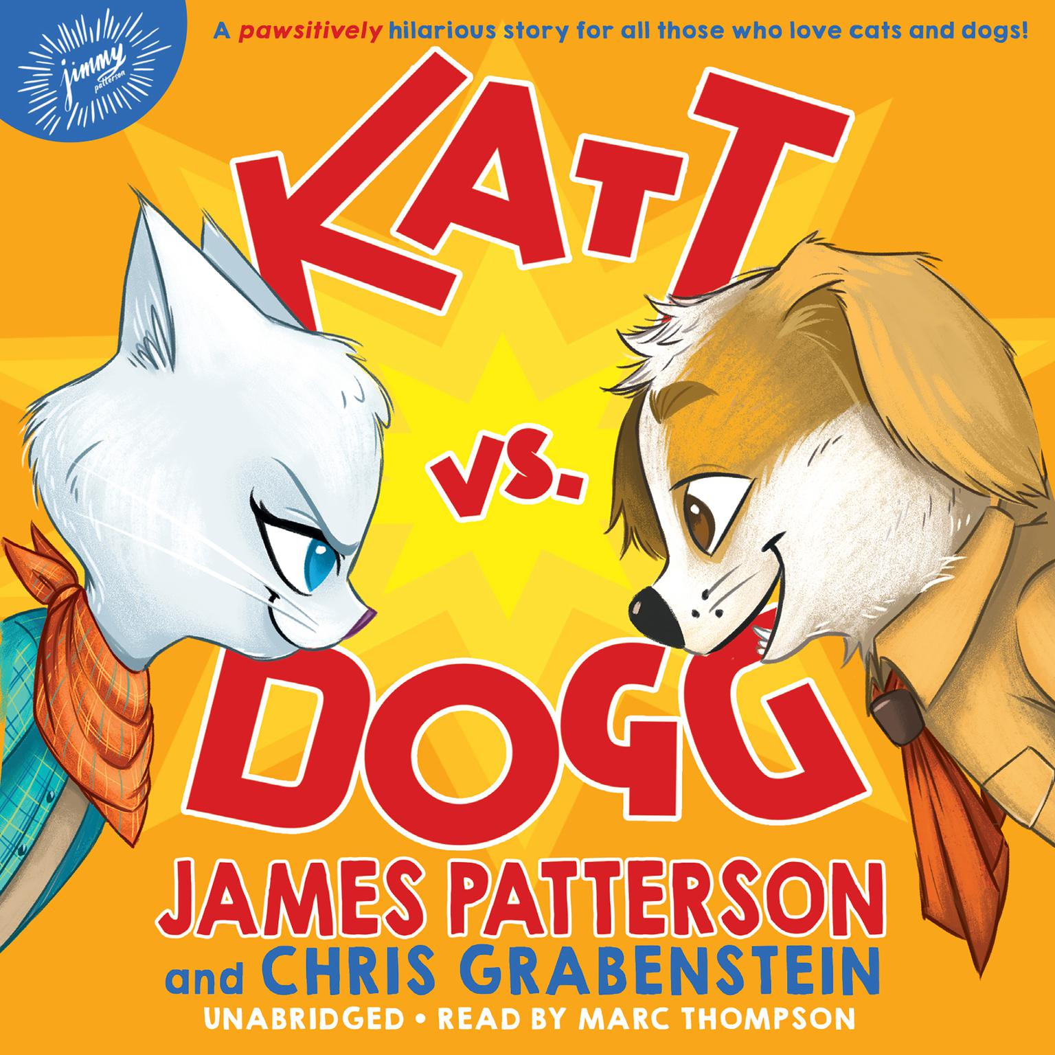Printable Katt vs. Dogg Audiobook Cover Art