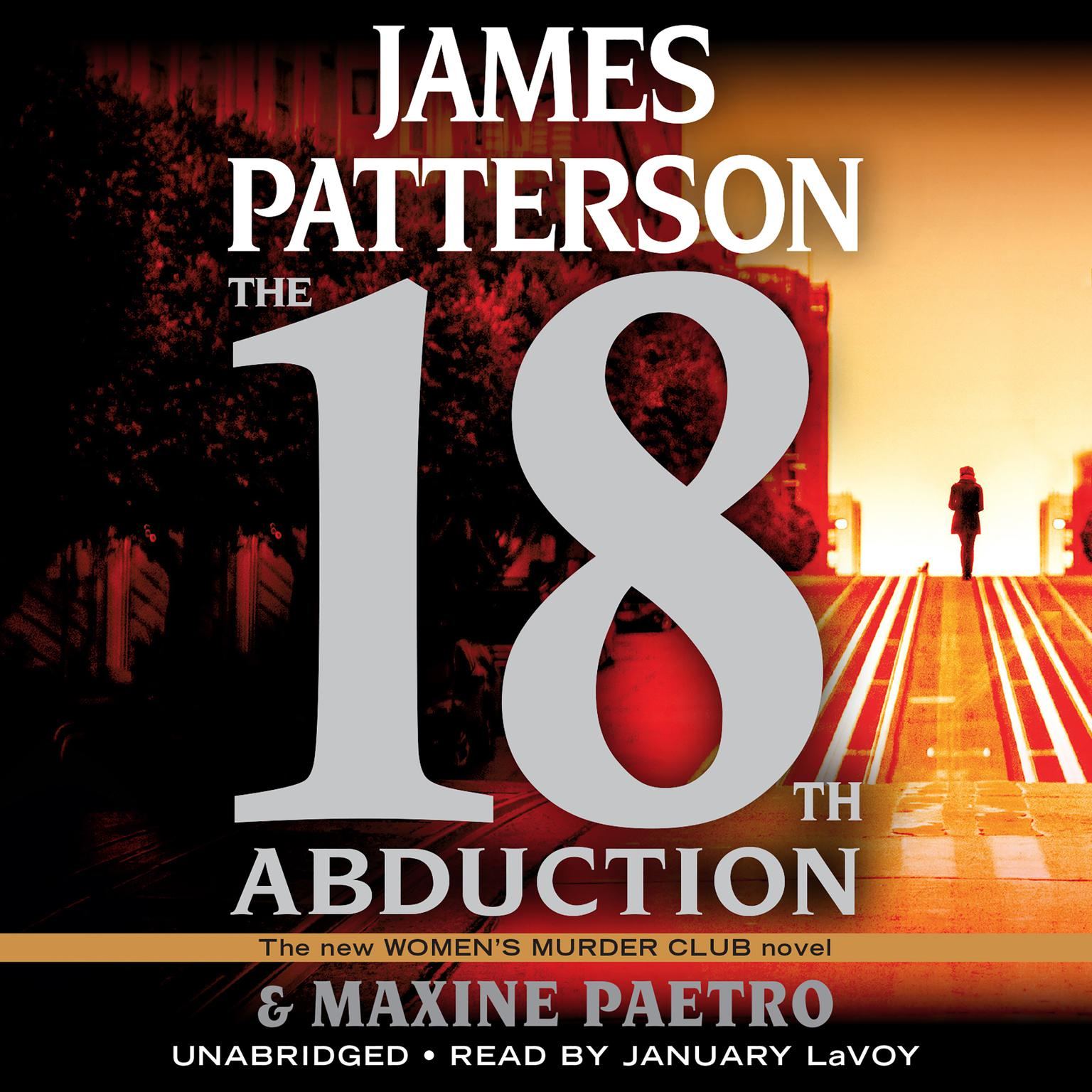 Printable The 18th Abduction Audiobook Cover Art