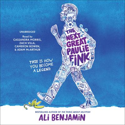 The Next Great Paulie Fink Audiobook, by Ali Benjamin
