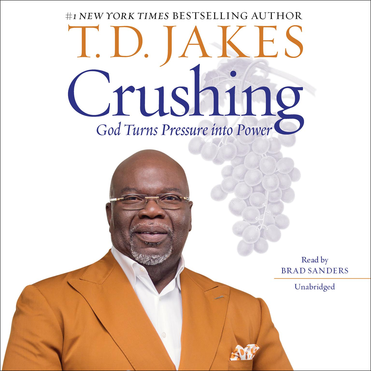 Printable Crushing: God Turns Pressure into Power Audiobook Cover Art