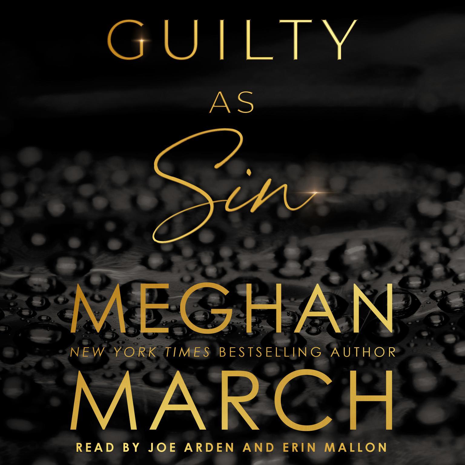 Printable Guilty as Sin Audiobook Cover Art