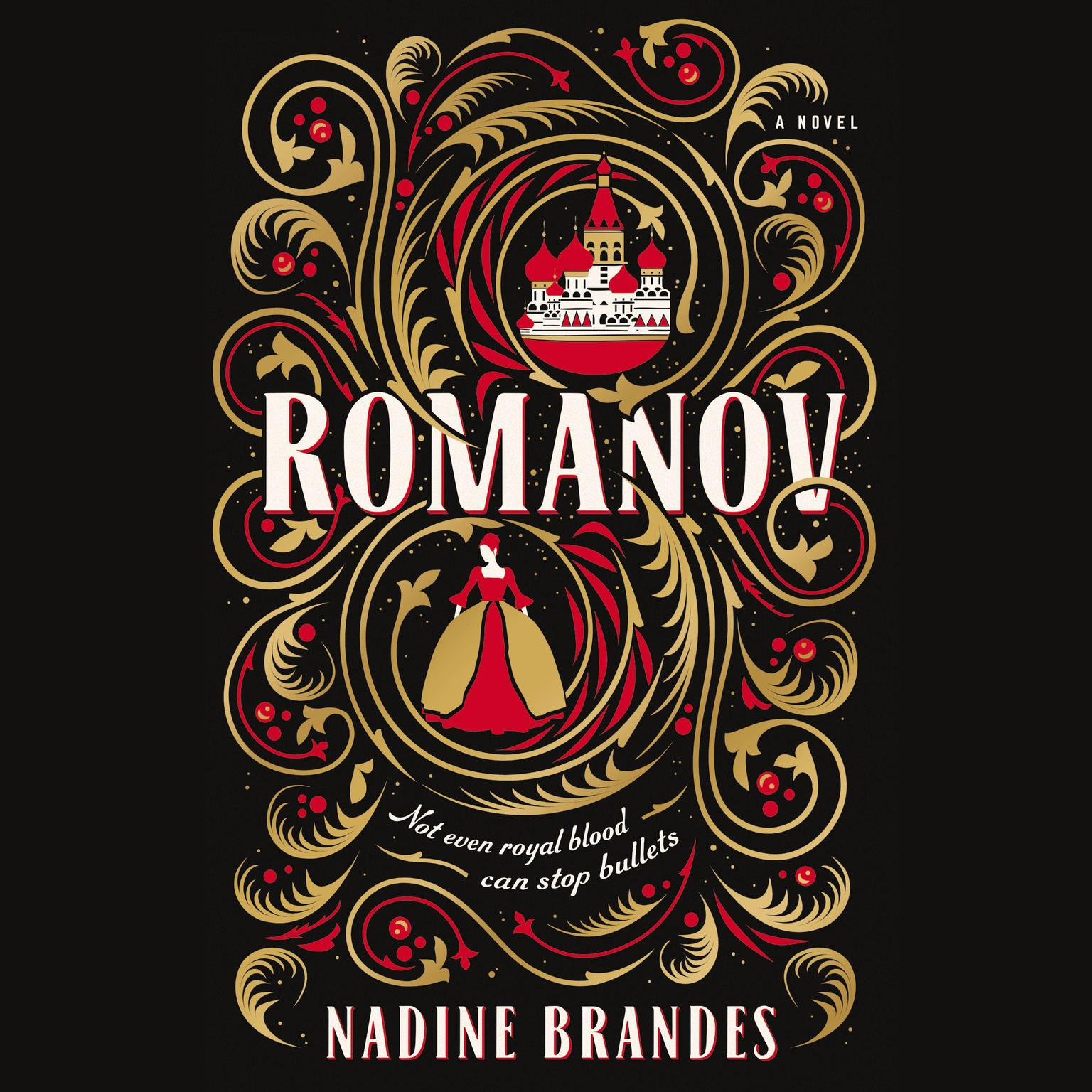 Printable Romanov Audiobook Cover Art