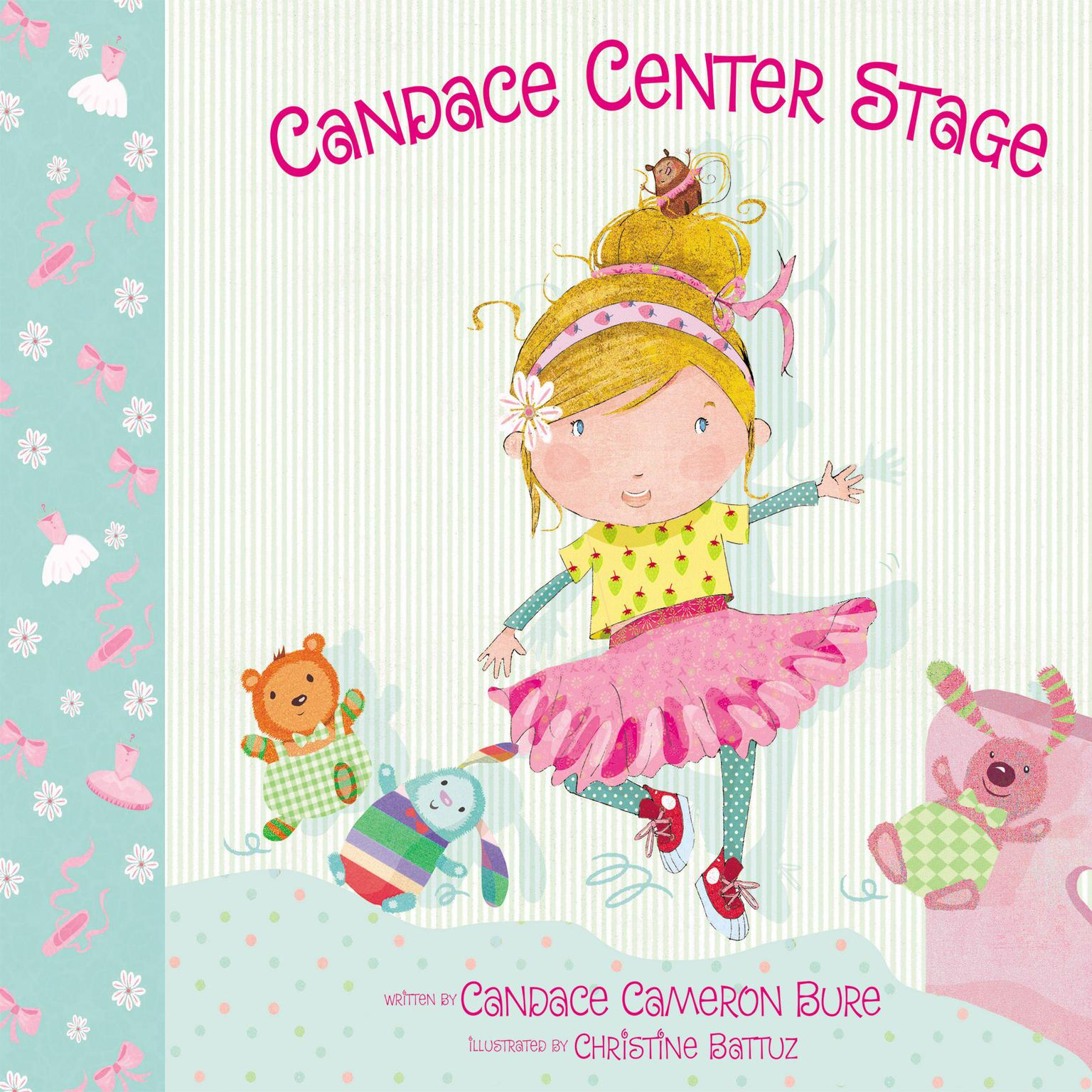 Printable Candace Center Stage Audiobook Cover Art