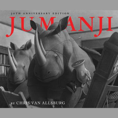 Jumanji Audiobook, by Chris Van Allsburg