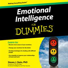 Emotional Intelligence For Dummies Audiobook, by Steven J. Stein, Steven J. Stein