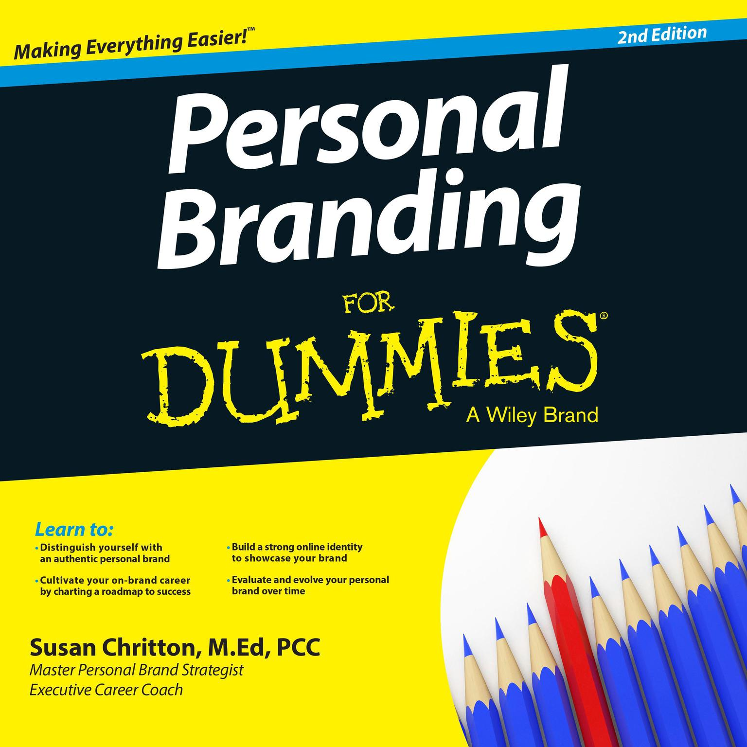 Printable Personal Branding For Dummies: 2nd Edition Audiobook Cover Art