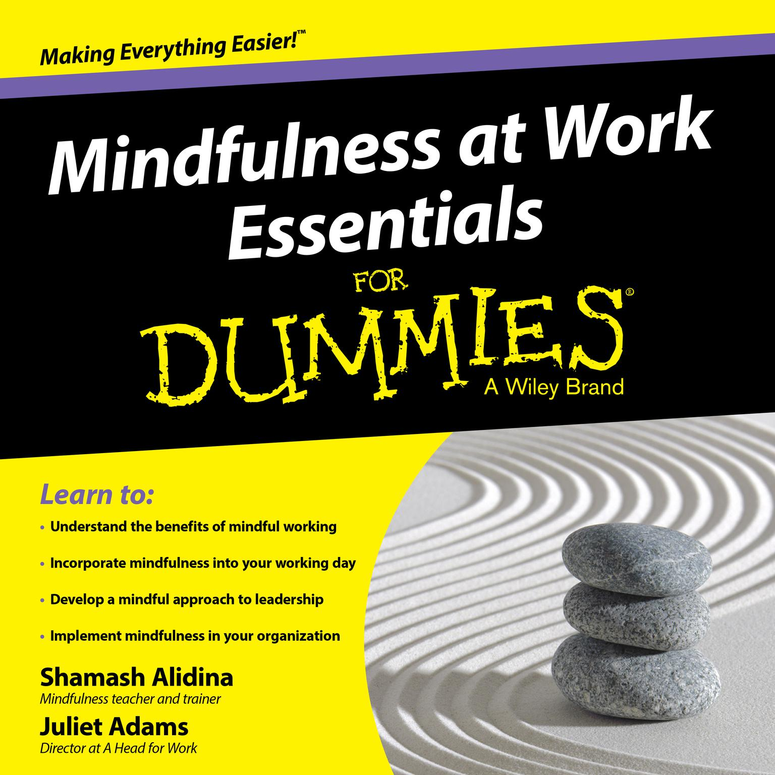 Printable Mindfulness at Work Essentials for Dummies Audiobook Cover Art