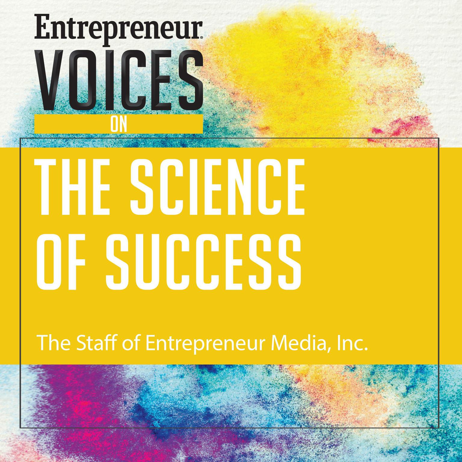 Printable Entrepreneur Voices on the Science of Success Audiobook Cover Art
