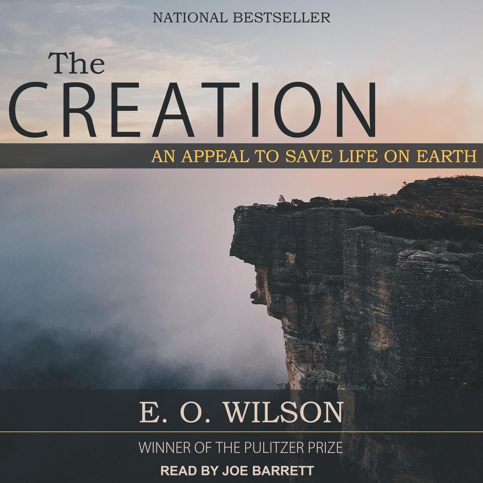 Printable The Creation: An Appeal to Save Life on Earth Audiobook Cover Art