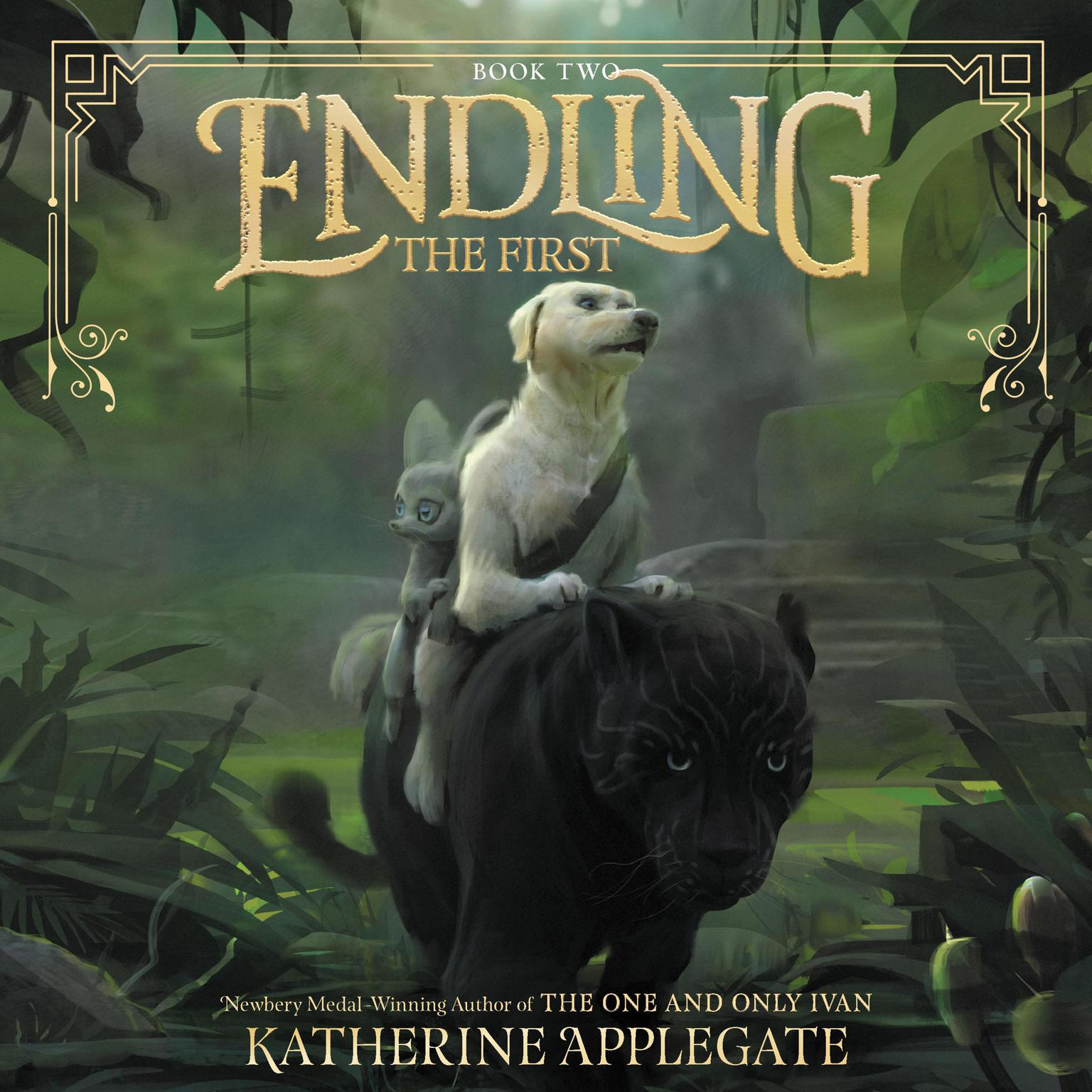 Printable Endling #2: The First Audiobook Cover Art
