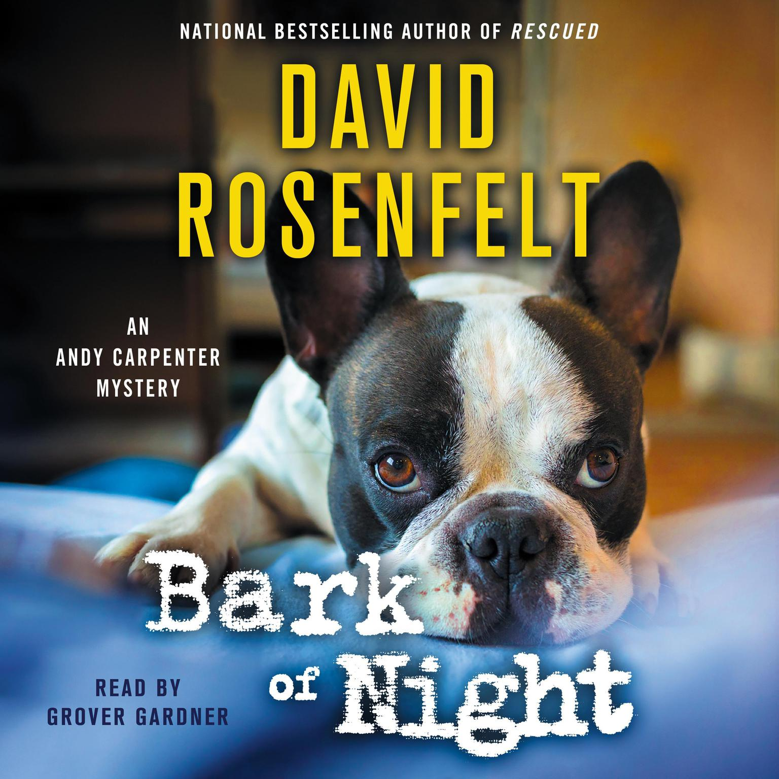 Printable Bark of Night Audiobook Cover Art